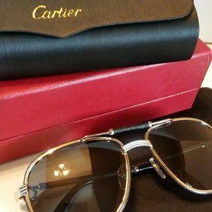 Mens Cartier Santos Limited Edition avaitors
